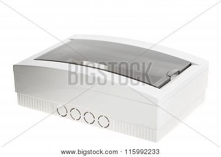 Electricity distribution box.