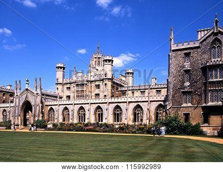 St. Johns College, Cambridge.