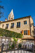 Bell Tower Of Parish Church of St. Martin - Vrsar Croatia Europe poster