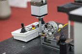 Inspection high precision automotive  part by CMM poster