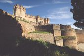 Coca Castle (Castillo de Coca) is a fortification constructed in the 15th century and is located in Coca in Segovia province Castilla y Leon Spain poster