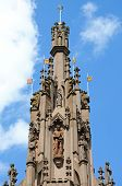 View of the Coventry Cross Coventry West Midlands England UK Western Europe. poster