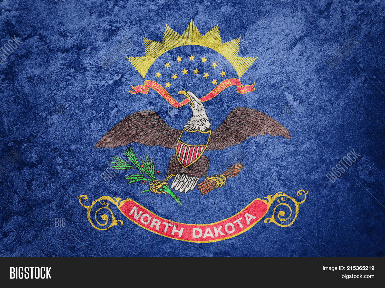 Grunge North Dakota Image Photo Free Trial Bigstock