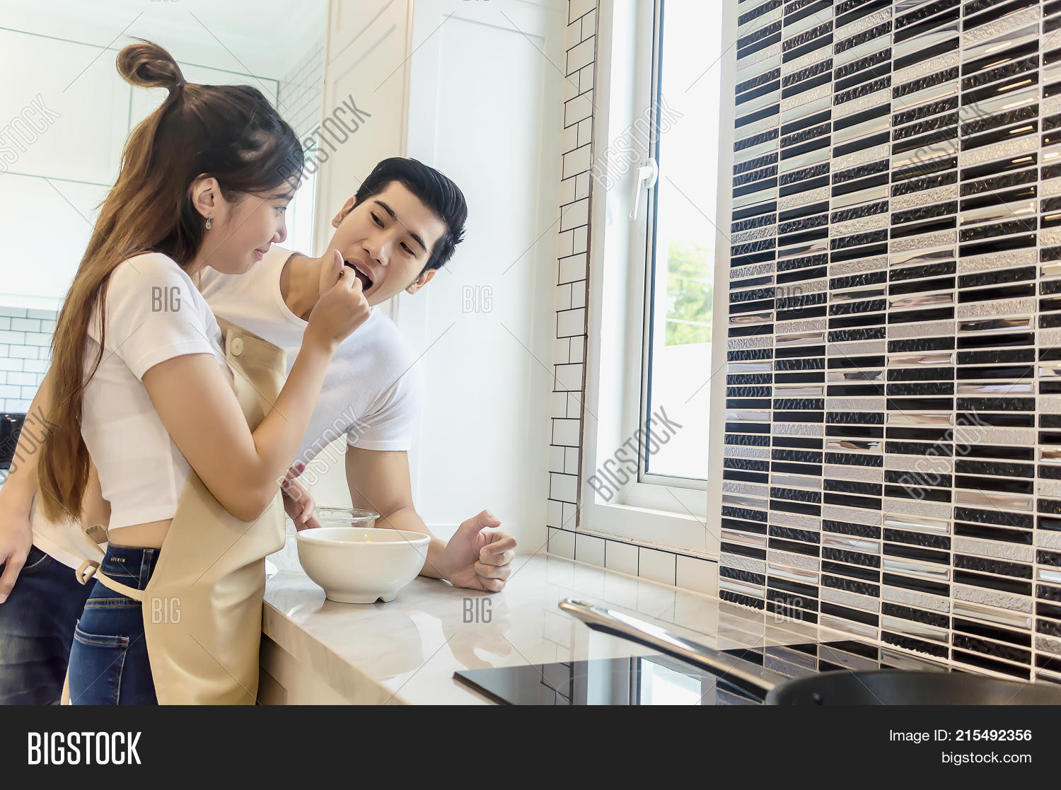 Sweet Couple Home Image & Photo (Free Trial) | Bigstock