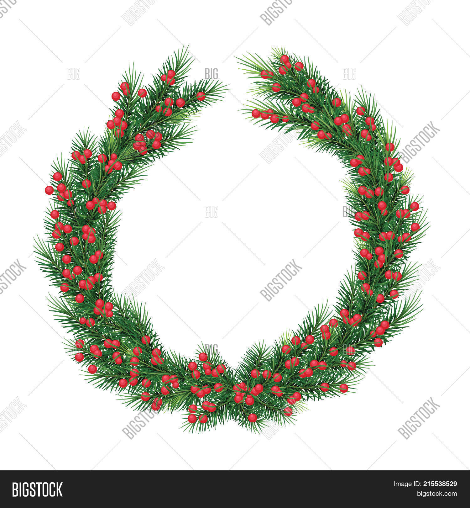 Christmas Wreath Xmas Image & Photo (Free Trial) | Bigstock