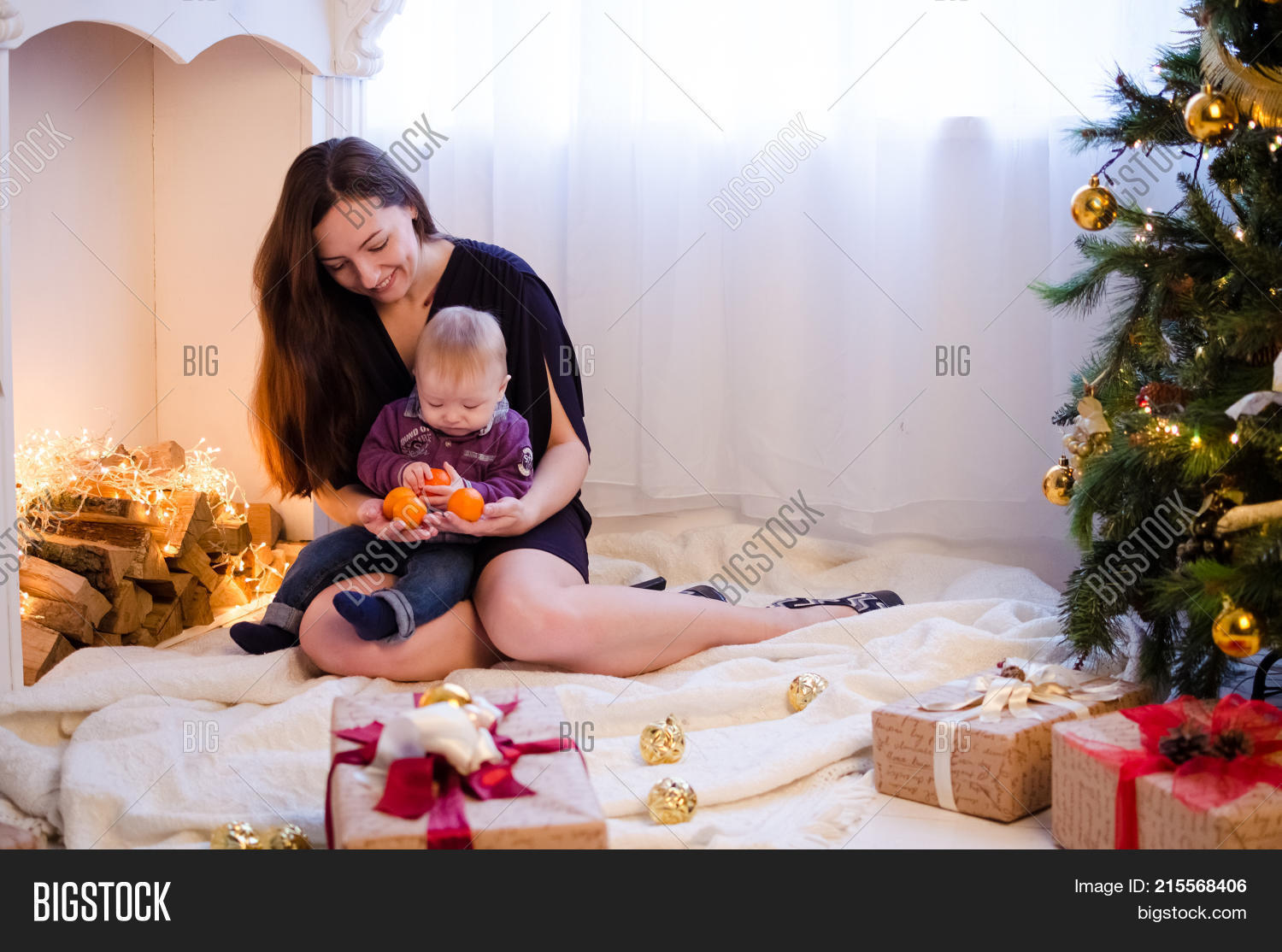 Mother Little Cute Image & Photo (Free Trial) | Bigstock