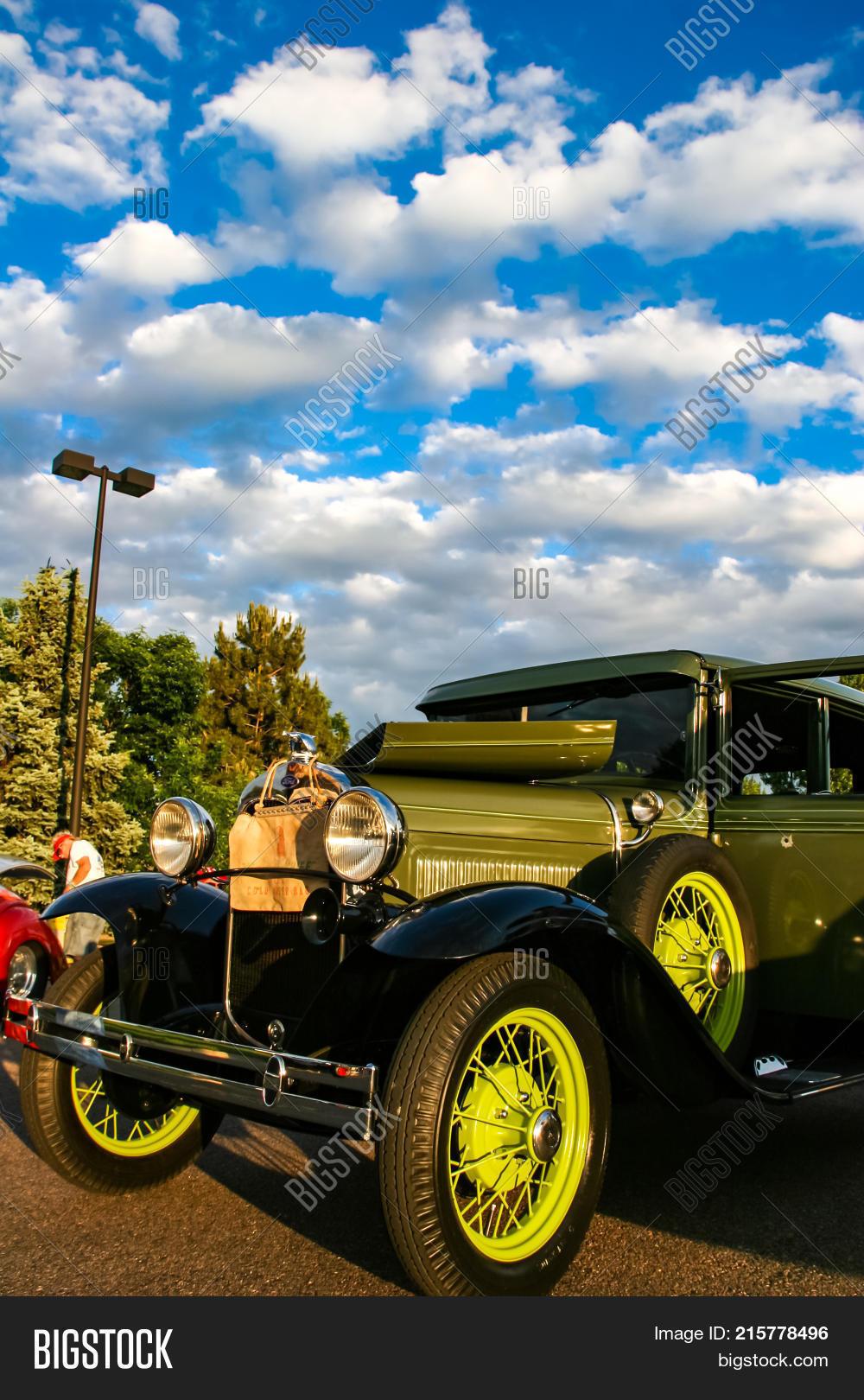 Burger King Classic Image Photo Free Trial Bigstock - Classic car show denver