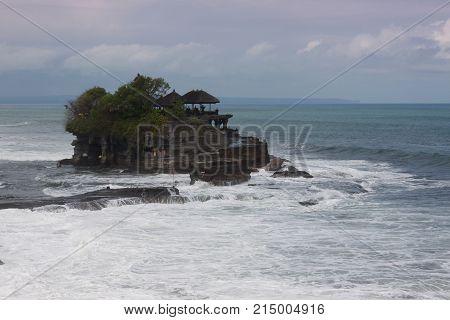 Pura Tanah Lot - temple on Bali Indonesia