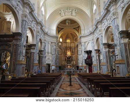 Ss Annunziata Church In Turin