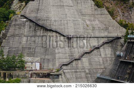 Kurobe Dam In Toyama, Japan