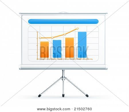 Projection screen, vector