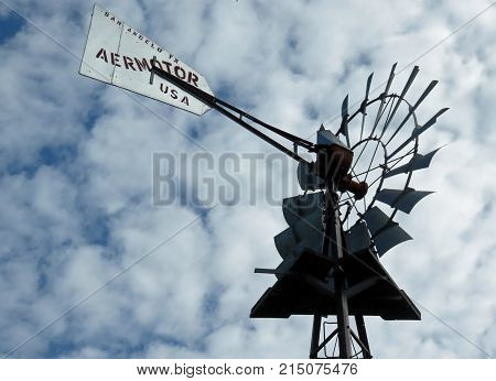Windmill at Bailey Homestead Preserve Sanibel Captiva Conservation Center Florida