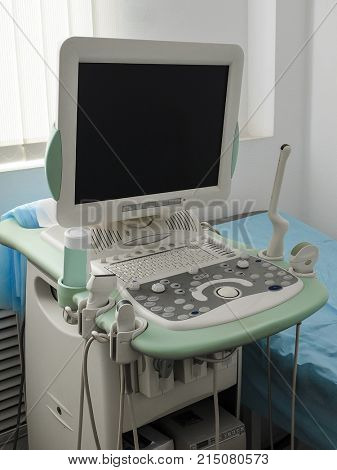 The image of an ultra sonic equipment