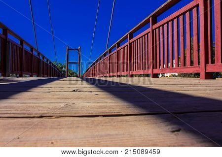 Bridge. Puerto Banus, Marbella, Costa del Sol, Andalusia, Spain. Picture taken - 21 november 2017.