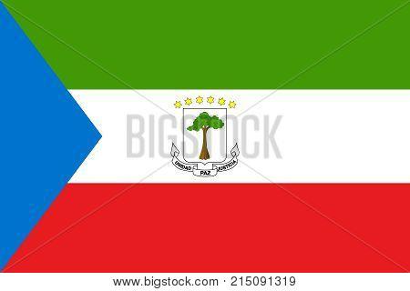 Flag Of Equatorial Guinea