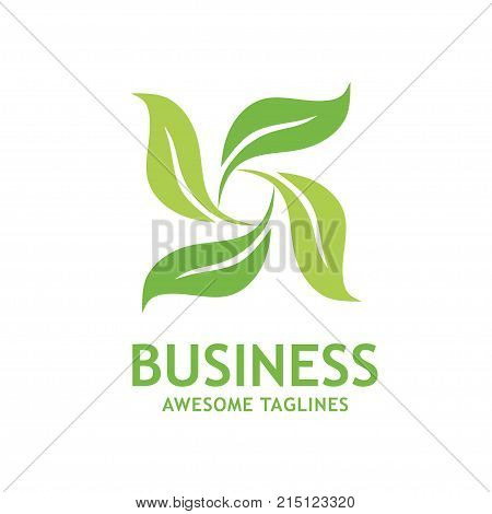 green leaf ecology nature element vector, social health logo and abstract organic leaf logo, Leaf logo ecology graphic creative template,