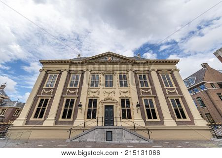 THE HAGUE, 24 July 2017 - Mauritshuis building and facade newly refurbished in The Hague