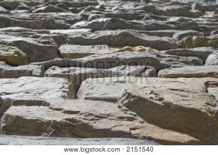 Stone Wall - Schist