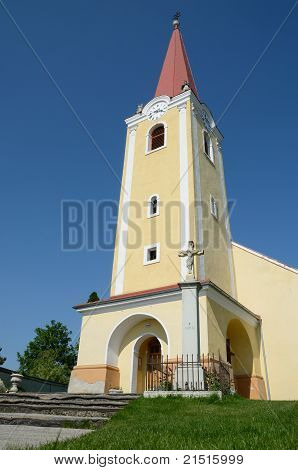 Catholic church in the village Malzenice