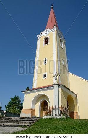 Catholic church in the village Malzenice