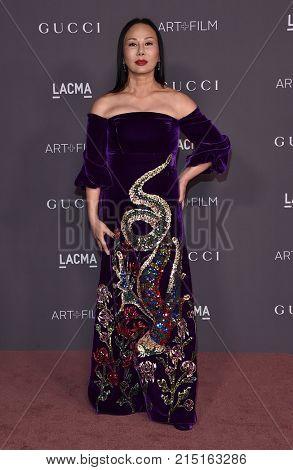 LOS ANGELES - NOV 04:  Eva Chow arrives for the 2017 LACMA Art + Film Gala on November 04, 2017 in Los Angeles, CA