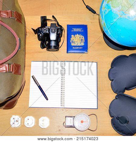 Where Next? Bucket List Travel Concept
