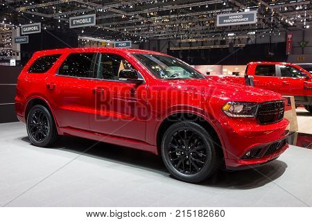 2017 Dodge Durango R/t Blacktop Suv Car