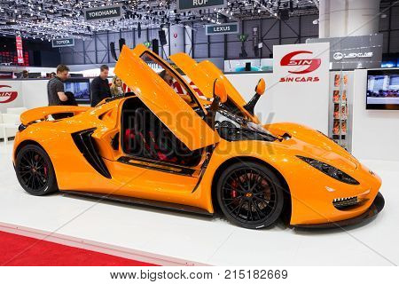 Sin Cars R1 Sports Car