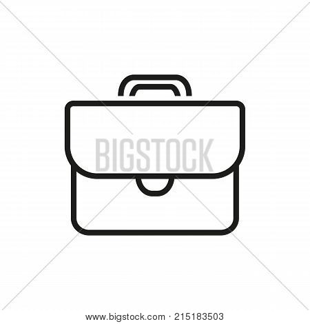 Brief case. Portfolio, bag, background. Recruitment concept. Can be used for topics like business, qualification, travelling.