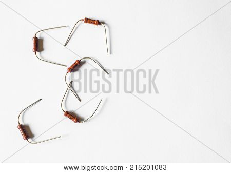 Resistor Passive Two Terminal Electrical Component For Electrical Resistance To Reduce Current Flow