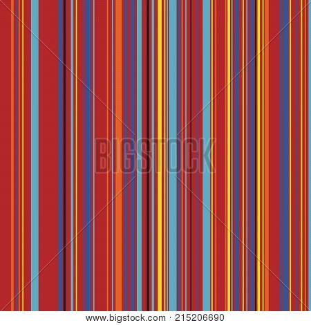 Retro Color Straight Vertical Variable Width Stripes, Color Lines Pattern, Vertically Seamless Pattern, Straight Parallel Vertical Lines, Fashion Geometric Color Random Lines