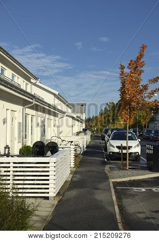 Swedish middle class home, Salen in Stockholm area.