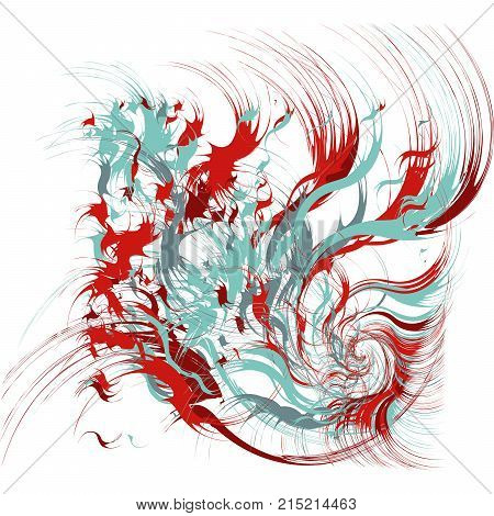 Paint Splatters, Paint Splashes Shapes, Fashion Abstract Art, Splash Background with Drops, Grunge Blots Design Elements
