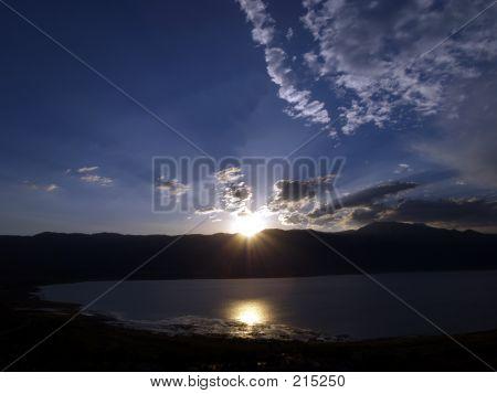 Lake Wahoe State Park Sunset