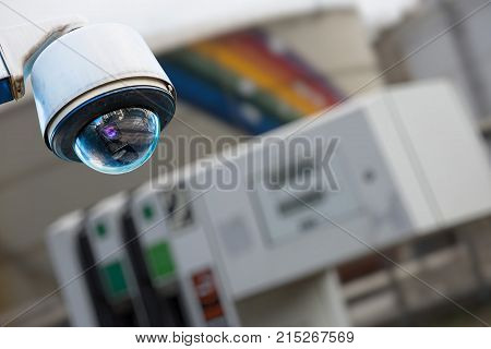 Cctv Camera Or Surveillance System For Sensitive Industrial Site Protection