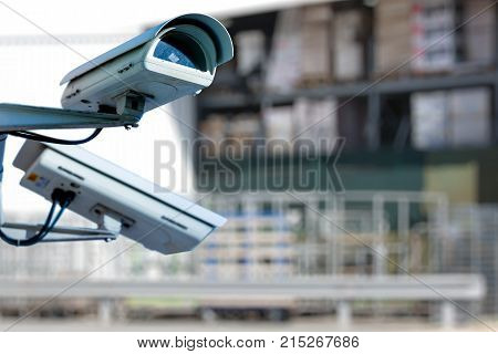 Cctv Camera Or Surveillance System For Warehouse Protection