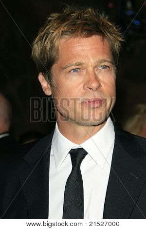 PALM SPRINGS - JAN 6: Brad Pitt at the 18th annual Palm Springs International Film Festival Gala Awards in Palm Springs, California on January 6, 2007