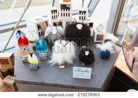Icelandic Gifts In Perlan Museum In Reykjavik