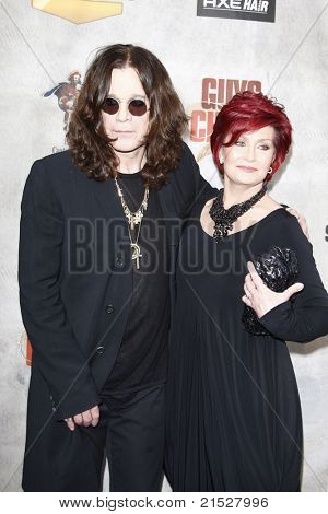 """LOS ANGELES - JUN 5: Ozzy Osbourne, Sharon Osbourne at the Spike TV's 4th Annual """"Guys Choice Awards"""" at Sony Studios in Culver City, Los Angeles, California on June 05, 2010"""