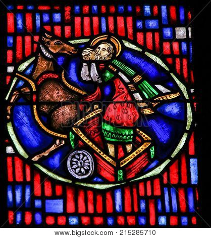 Stained Glass In Worms - Vision Of Isaiah