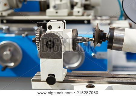 Machine for the sharpening milling cutters closeup