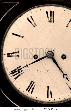 Old wind Uhr.
