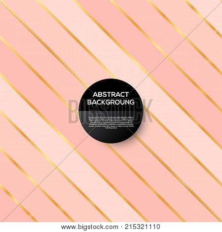 rose gold background. Stock vector eps 10