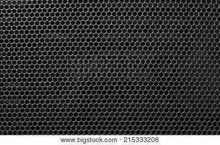 The Metal holed grid background Black hole