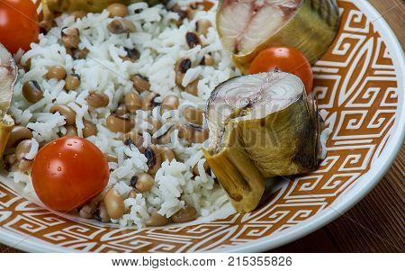 Pilaf With Black-eyed Peas