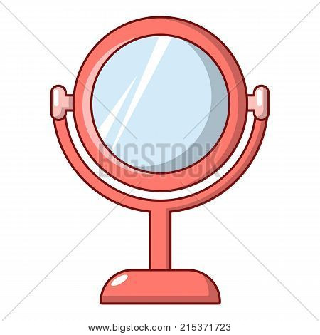 Mirror icon. Cartoon illustration of mirror vector icon for web