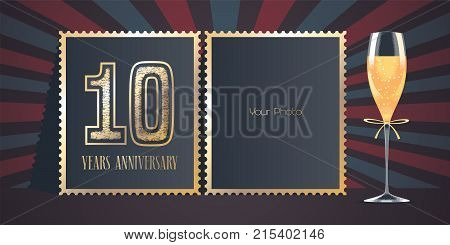Years anniversary vector icon vector photo bigstock