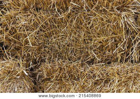 Cluster straw truss straw - abstract background