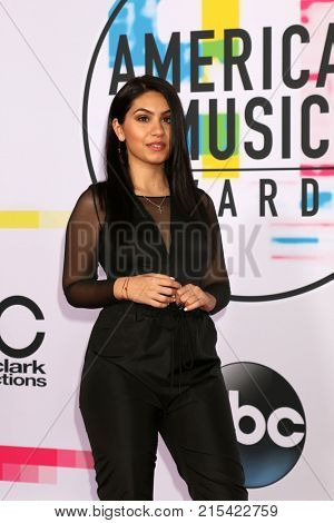 LOS ANGELES - NOV 19:  Alessia Cara at the American Music Awards 2017 at Microsoft Theater on November 19, 2017 in Los Angeles, CA