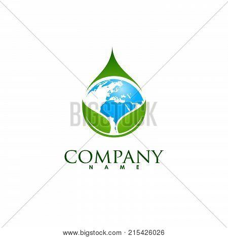 earth logo design, earth stock vector, earth logo
